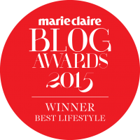 Marie Claire Best Lifestyle Blog Winner