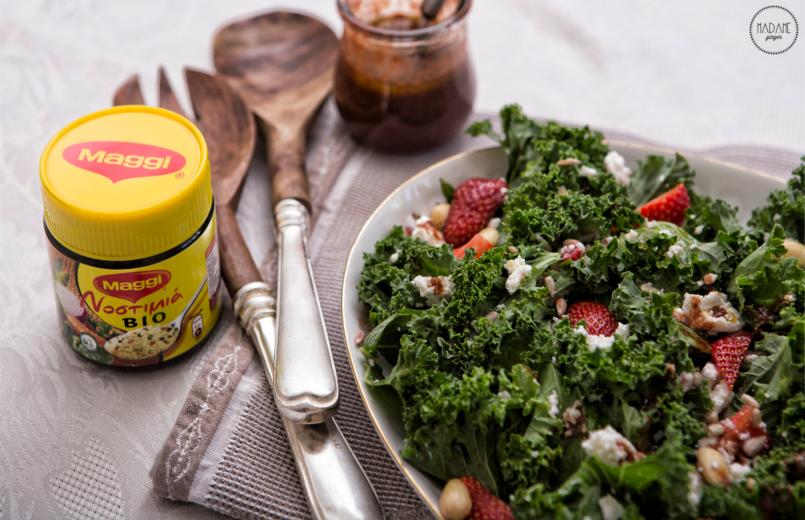 Σαλάτα με Kale & ΦΡάουλες