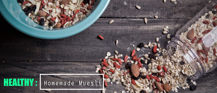 Σπιτικό Muesli, θρεπτικό & νόστιμο!
