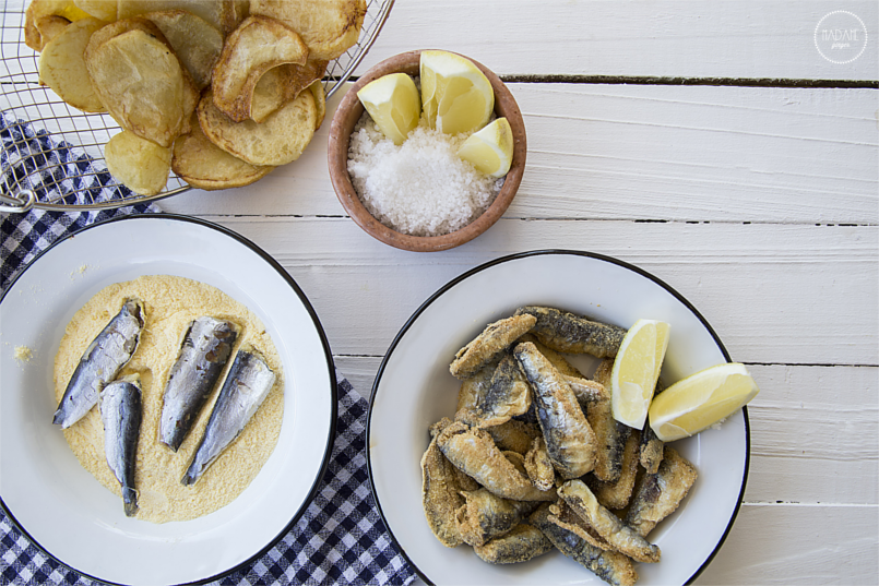 Σαρδέλες, Πατάτες, Fish Chips, Ψάρι, Καλοκαίρι, Σαρδέλα 4