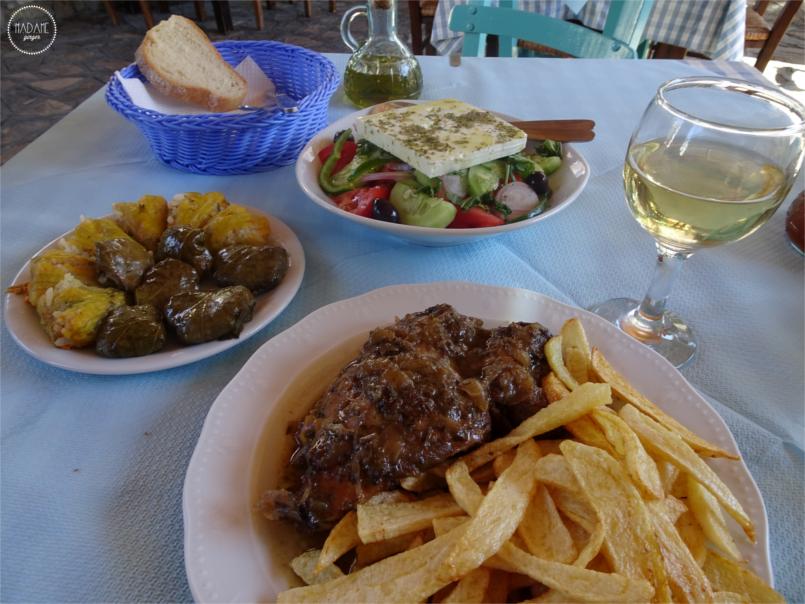 Ταβέρνα, Καφενείο, Ελληνική Κουζίνα, Τυροπιτάκια, Δέσποινα, Σάμος, Ταξίδι 3